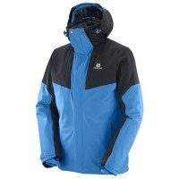 Salomon Mens Icerocket jkt Hawaiian Surf/Black